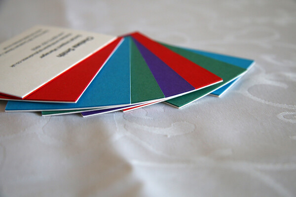 Laminated / Foiled Business Card Printing